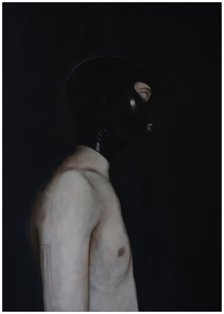 Paul Josepth Vogeler - Self Portrait Mask